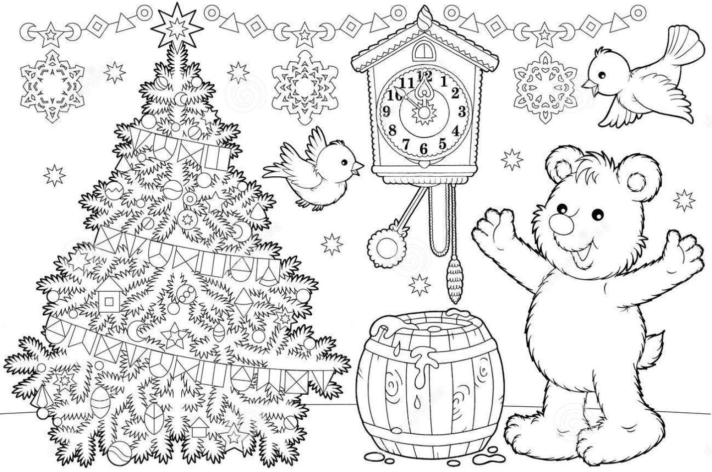 http://www.dreamstime.com/stock-photo-christmas-coloring-page-image14265270