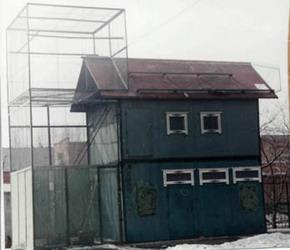 Двухэтажная голубятня фото