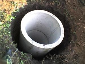 Ёмкость для септика из бетонных колец