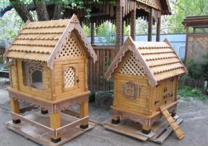 Декоративные домики для домашних кроликов фото