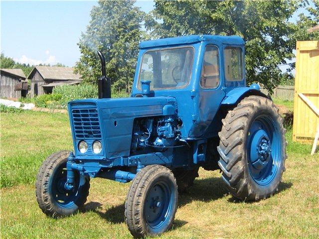 Трактор МТЗ 50 и МТЗ 52