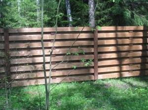 Красивый забор для дачи