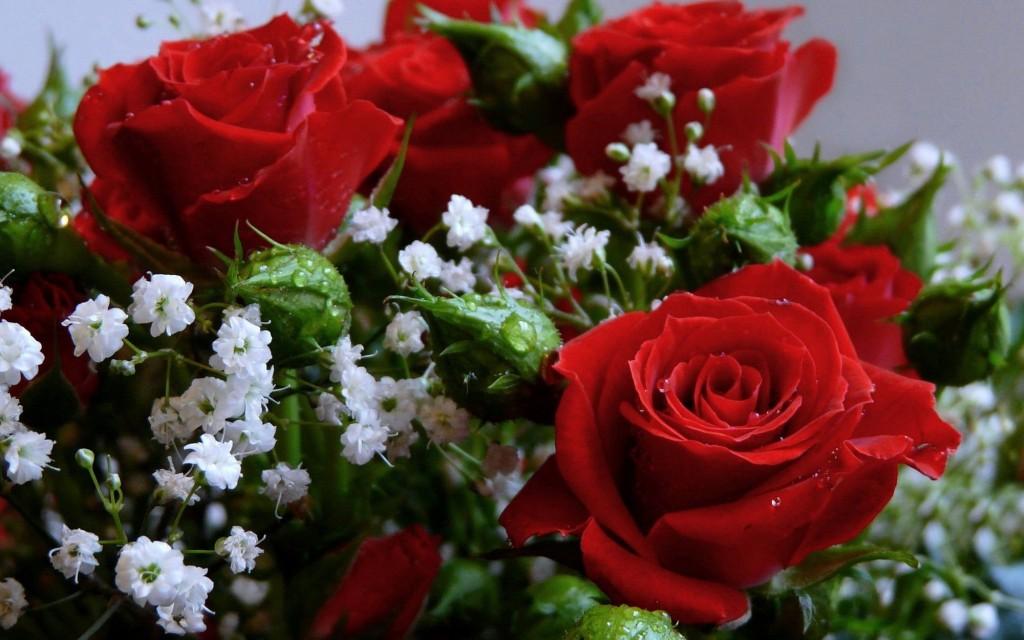 Фото: Красивые букеты роз