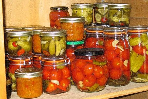 Как правильно заготавливать овощи на зиму?