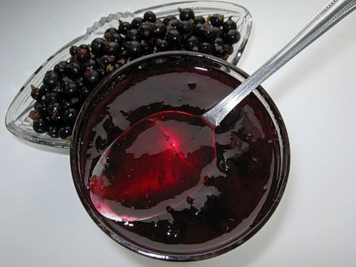 Рецепт желе из чёрной смородины