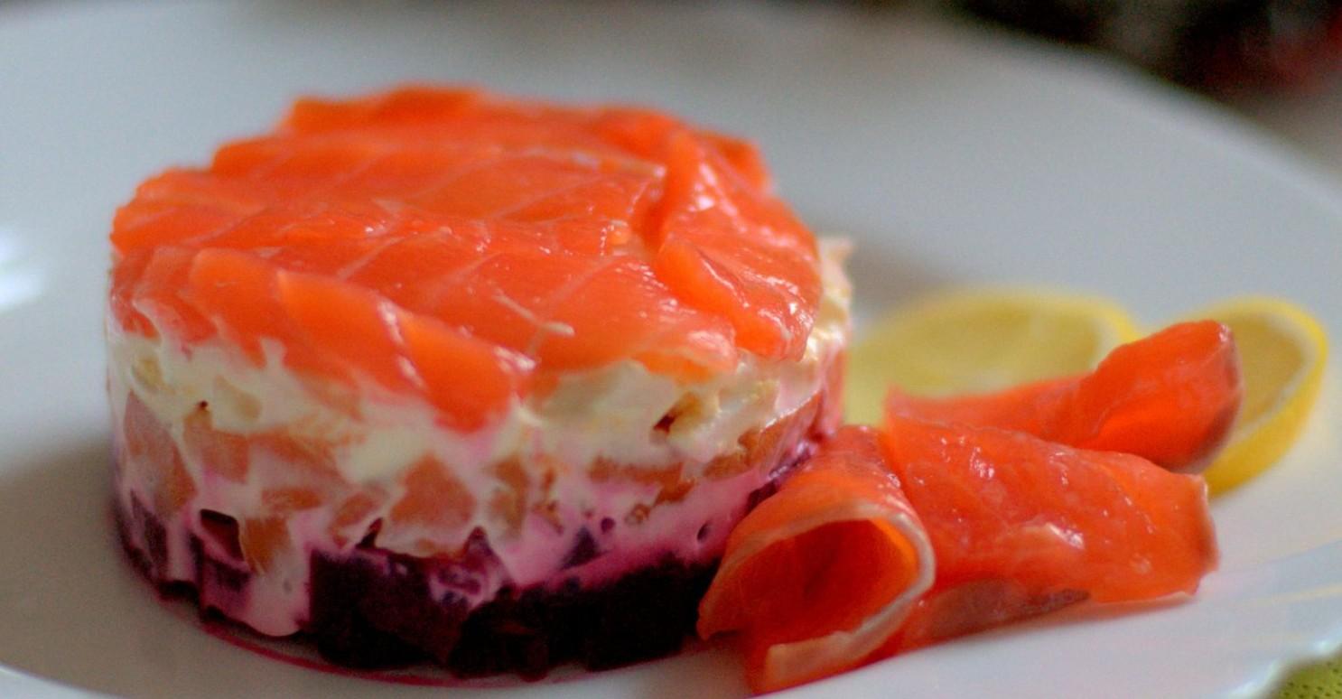 фото рецепт Салат «Семга на шубе»