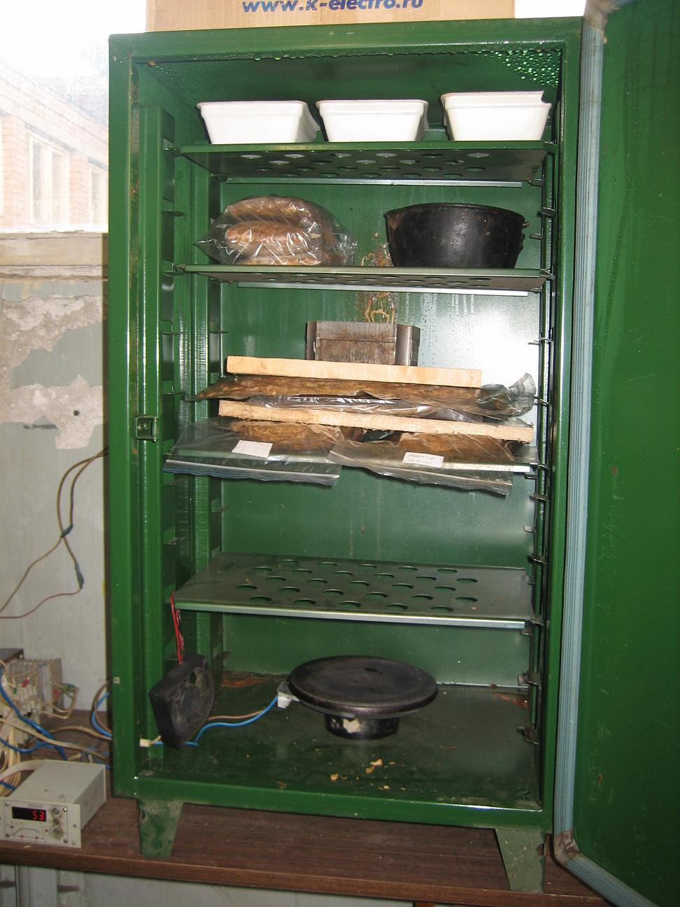Шкаф для ферментации табака