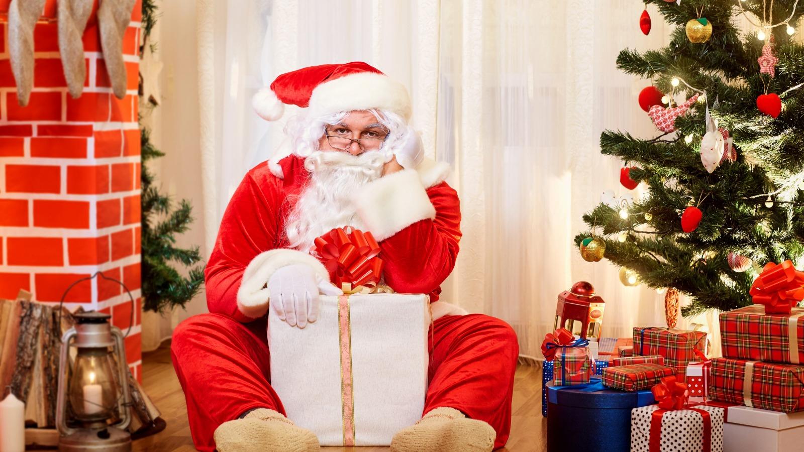 Дед Мороз на рабочий стол
