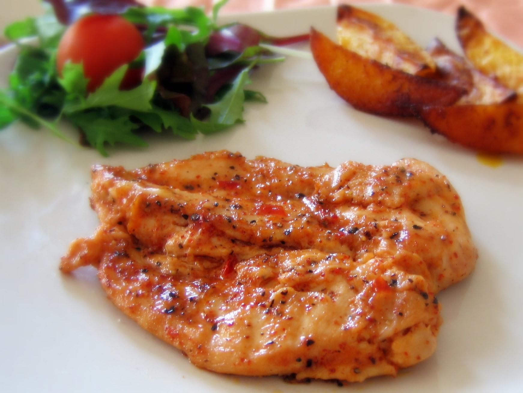 Рецепт «Куриные грудки по-каталонски».