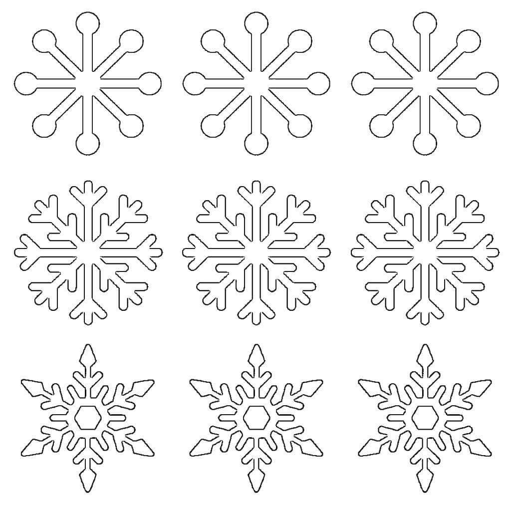 оказался картинки новогодних снежинок для вырезания она немного, поэтому