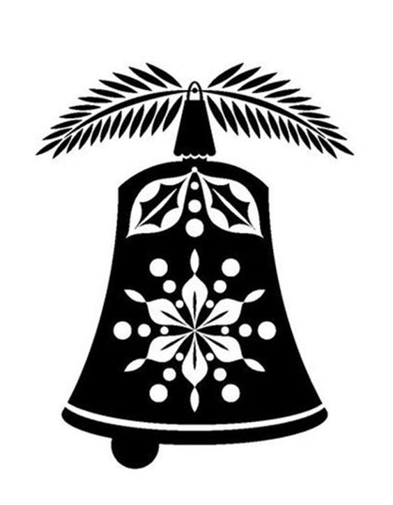 Шаблоны 2020 – колокольчики