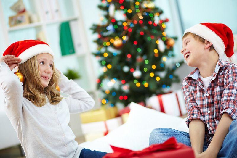 Новогодние игры и развлечения 2018 для детей.