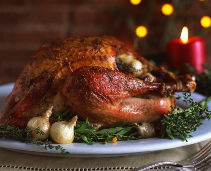 Рождественская курица – рецепт с фото