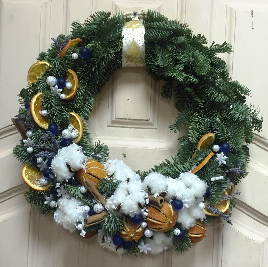 Рождественский венок: мастер-класс по созданию удивительного подарка на Новый год 2019