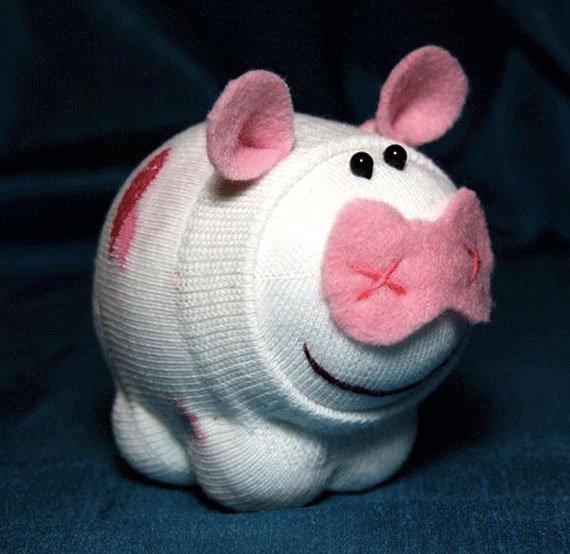 Подарки на Новый год 2019 - Свинья своими руками