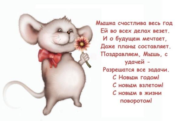 Новый год Крысы 2020
