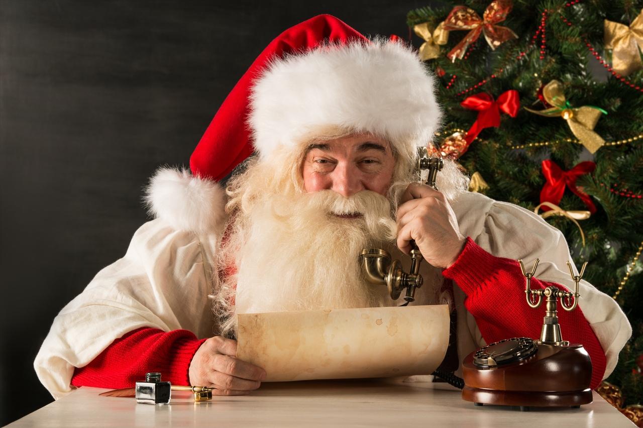 Бесплатный телефон Деда Мороза 2020