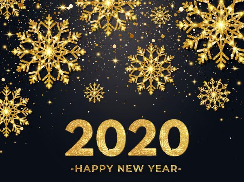 Красивые и прикольные новогодние поздравления 2020 в стихах