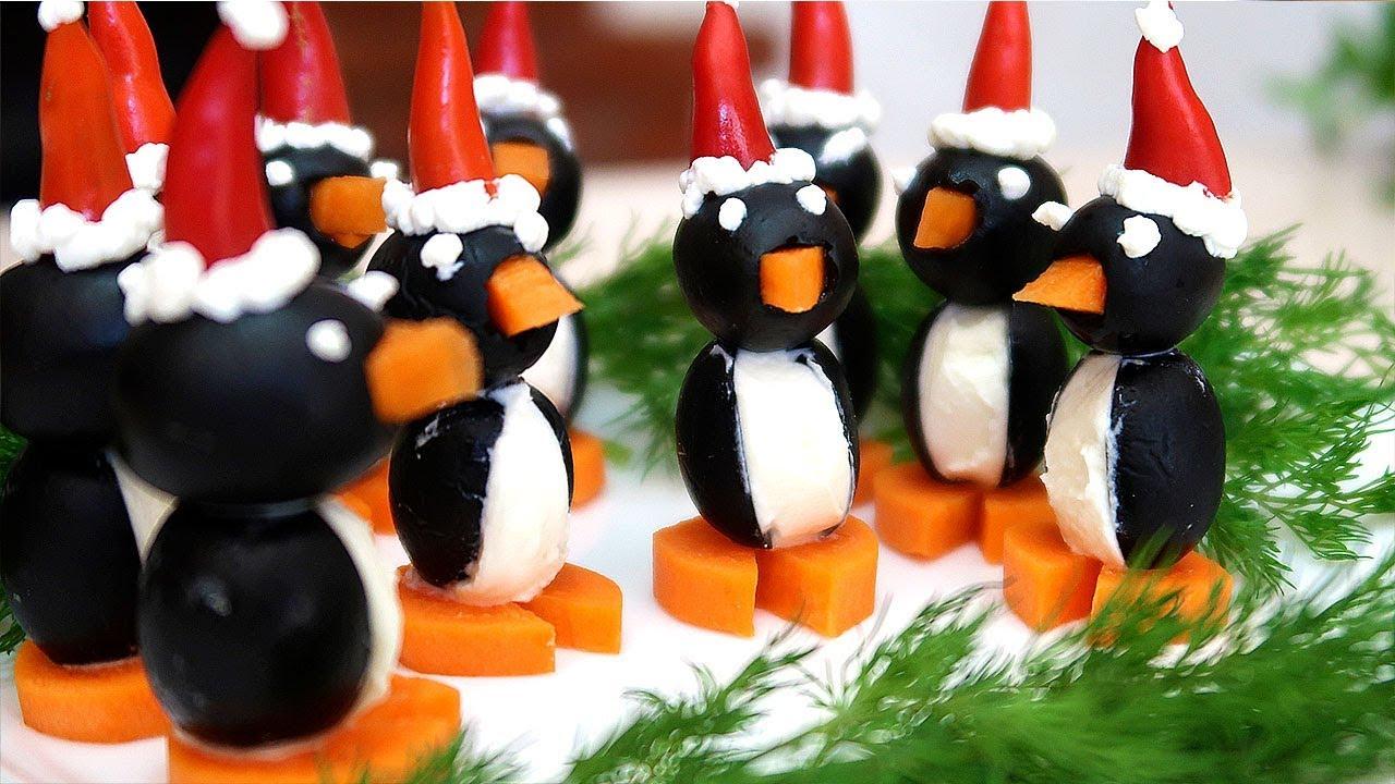Канапе-Пингвинчики