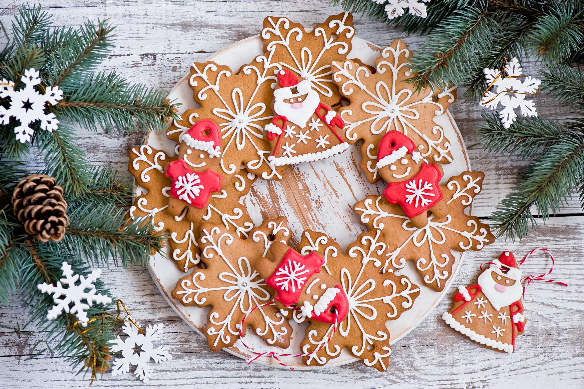 Печенья на Новый год 2020