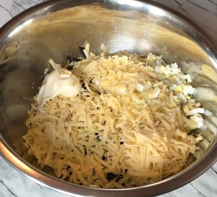 Рецепт приготовления новогоднего салата