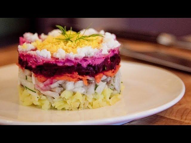 Самый вкусный салат на Новый год 2020 «Новогодняя ночь»