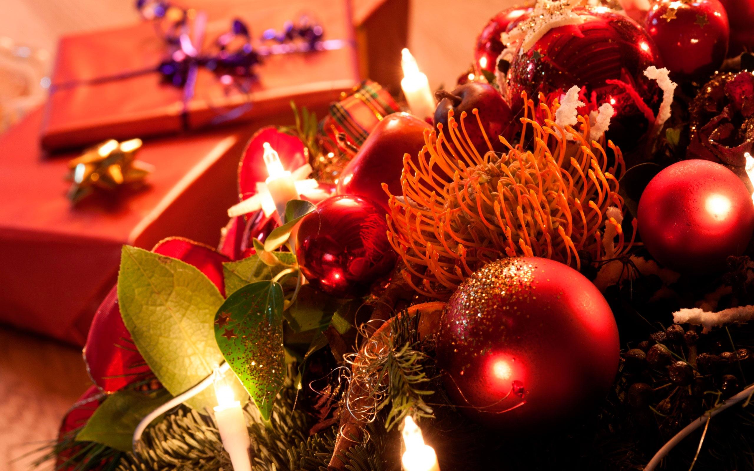 Красивые рождественские фото