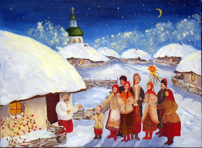 Колядки на Рождество Христово 2020