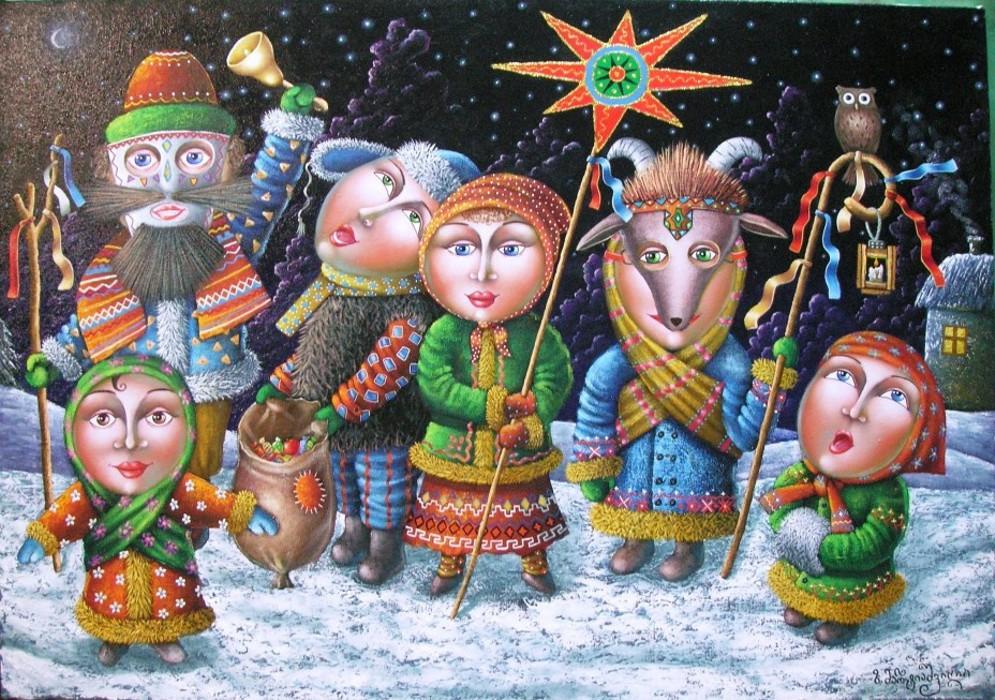 Короткие колядки на Рождество