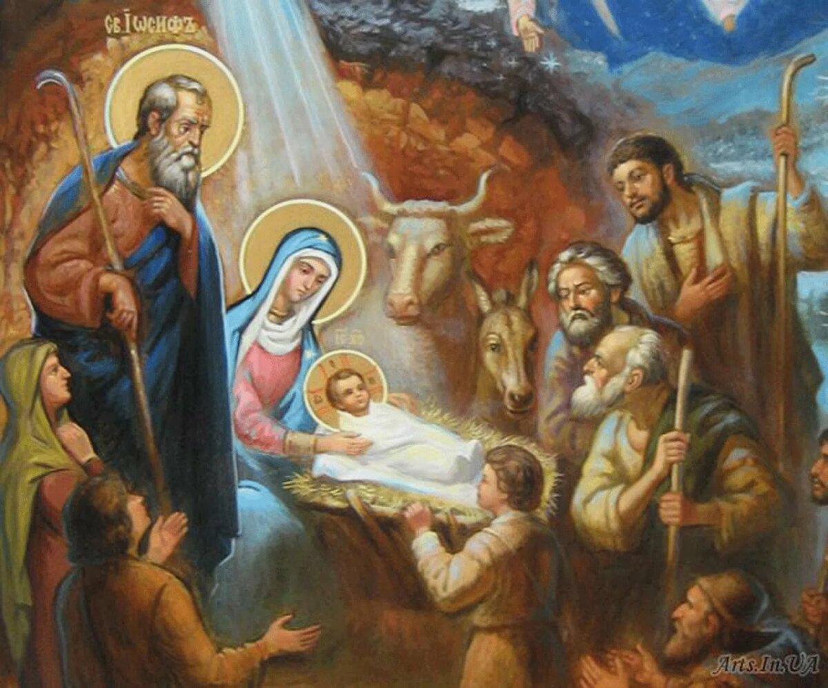 Красивые картинки на Рождество Христово