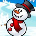 Рисунки снеговика для срисовки