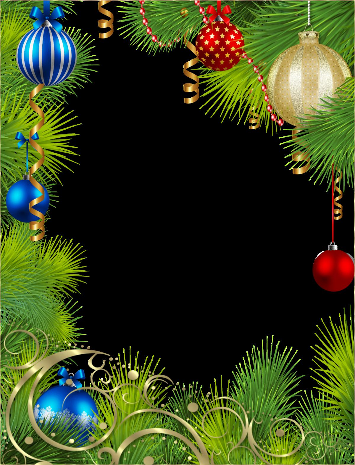 Рамки для фотошопа на Новый год