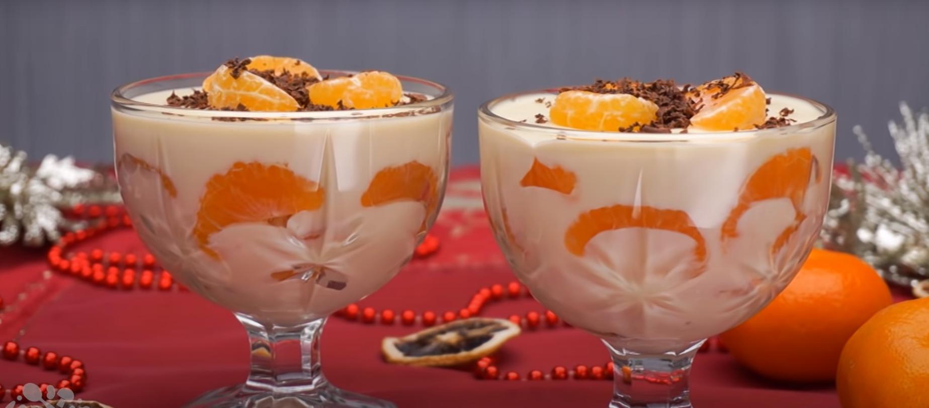 Шикарный новогодний десерт - мандарины в шоколаде