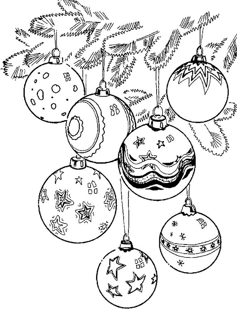 Картинка игрушка на елку черно белая вид обуви