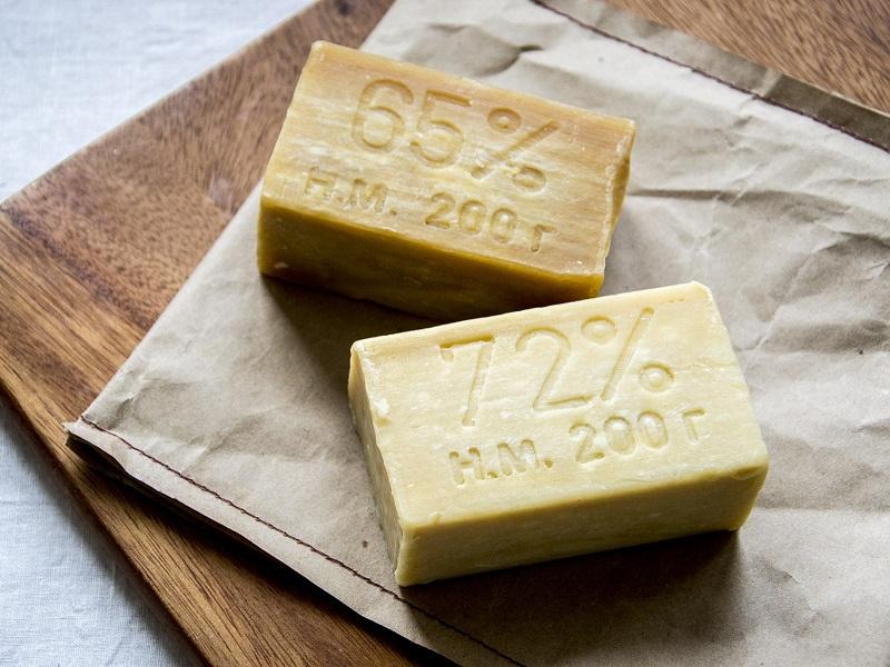 Наробный способ с помощью хозяйственного мыла