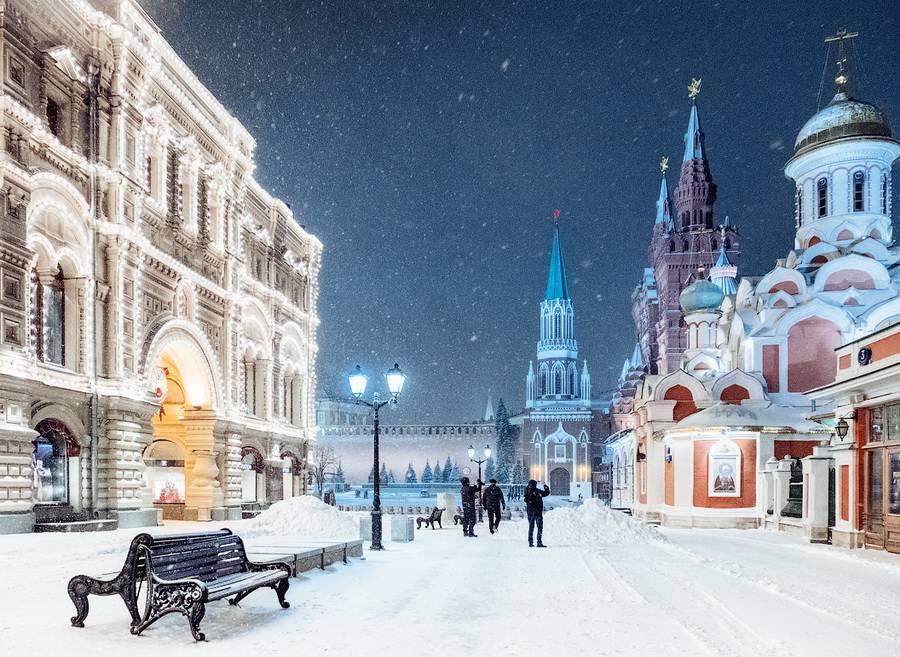 Особенности зимнего климата в Москве
