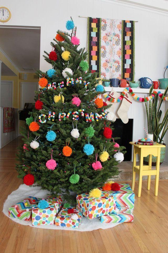Как нарядить ёлку на Новый год