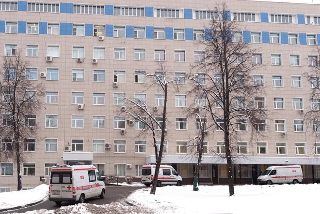 Работа медицинских служб в Москве