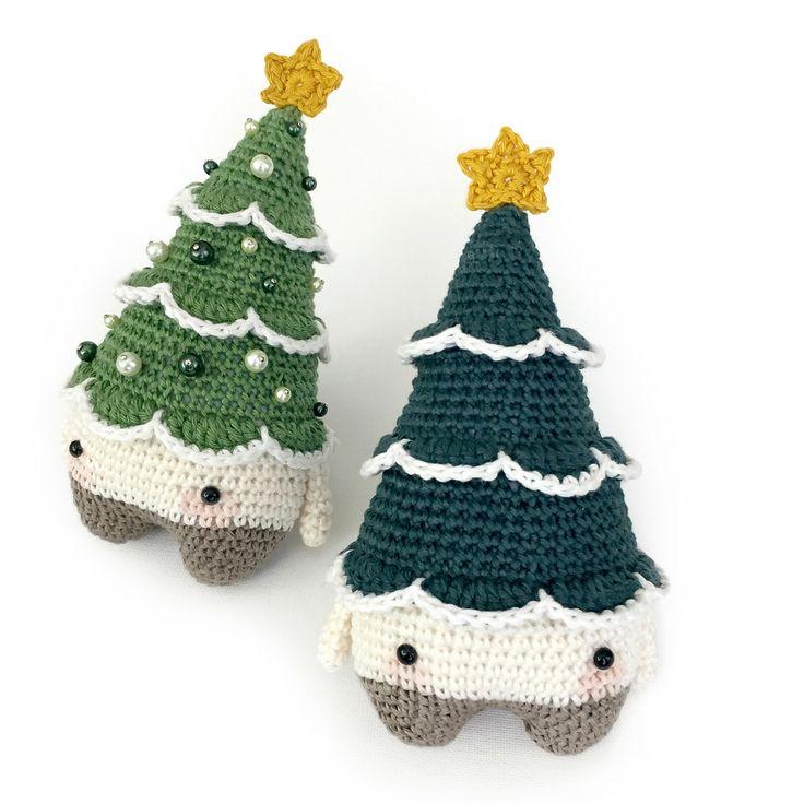 Вязаная елка на Новый год своими руками