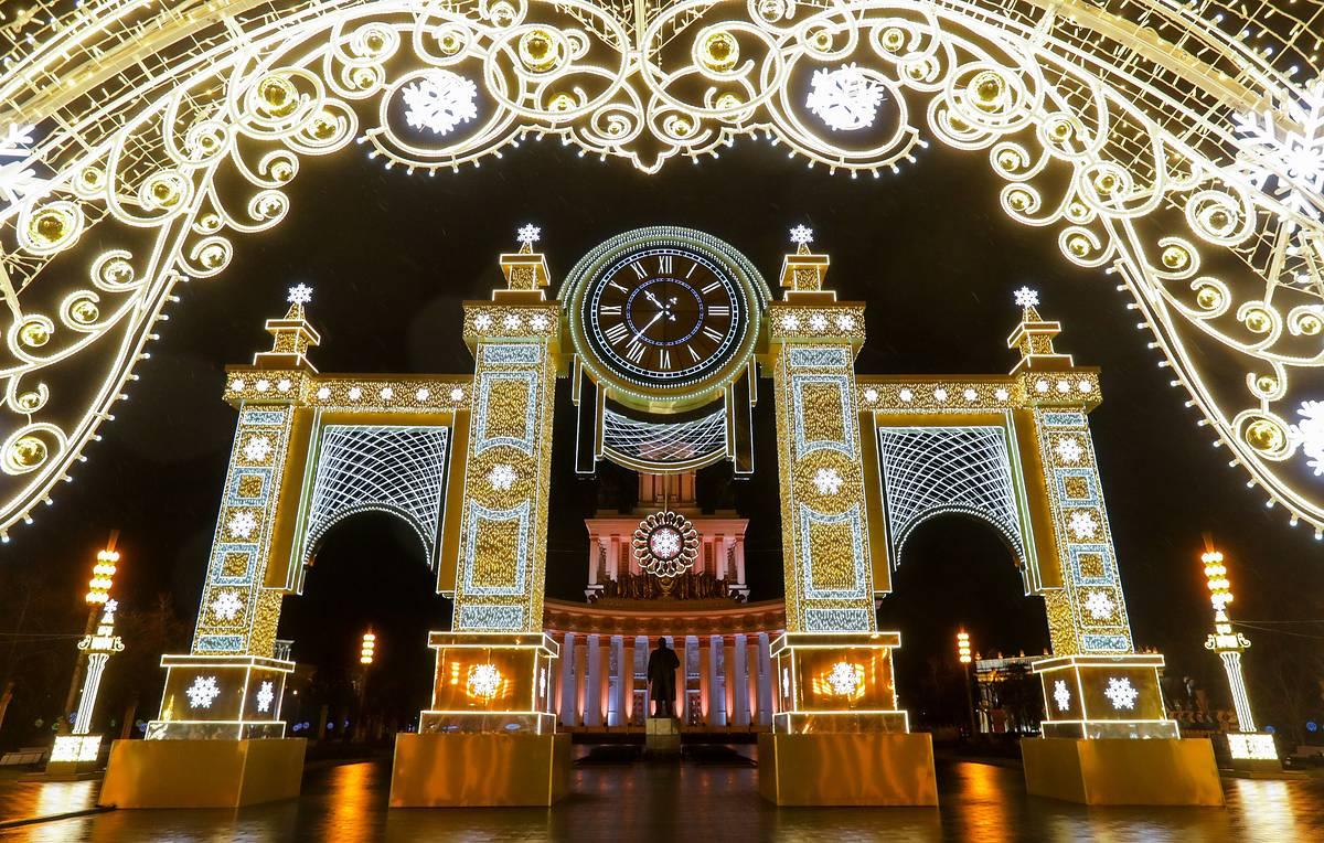 Когда украсят Москву к Новому году