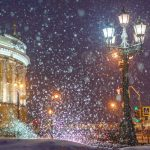 Погода на Новый год 2022 в Санкт-Петербурге