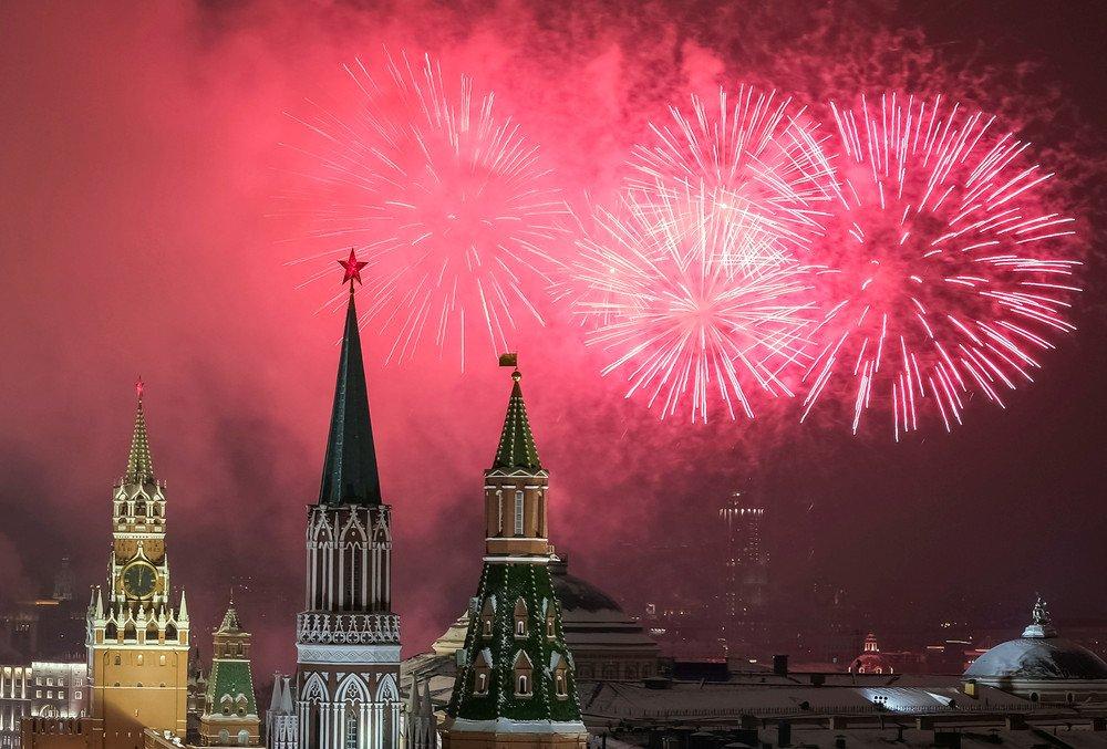 Салют на Новый год в Москве: во сколько и где