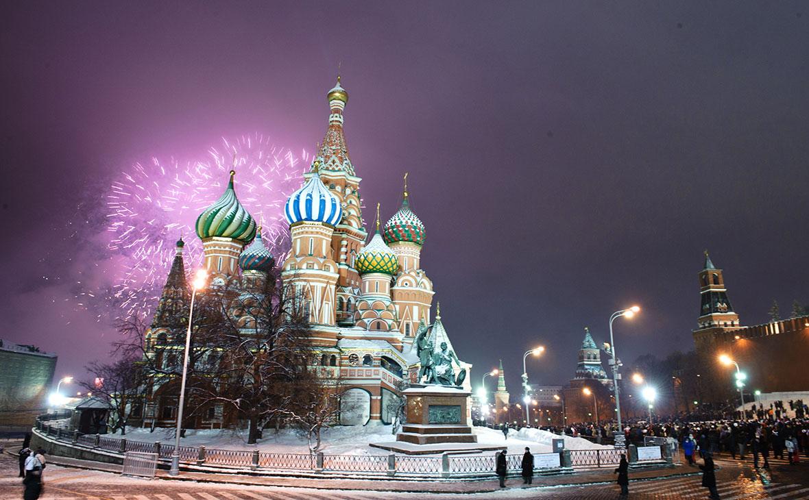 Новый год 2021 на Красной площади