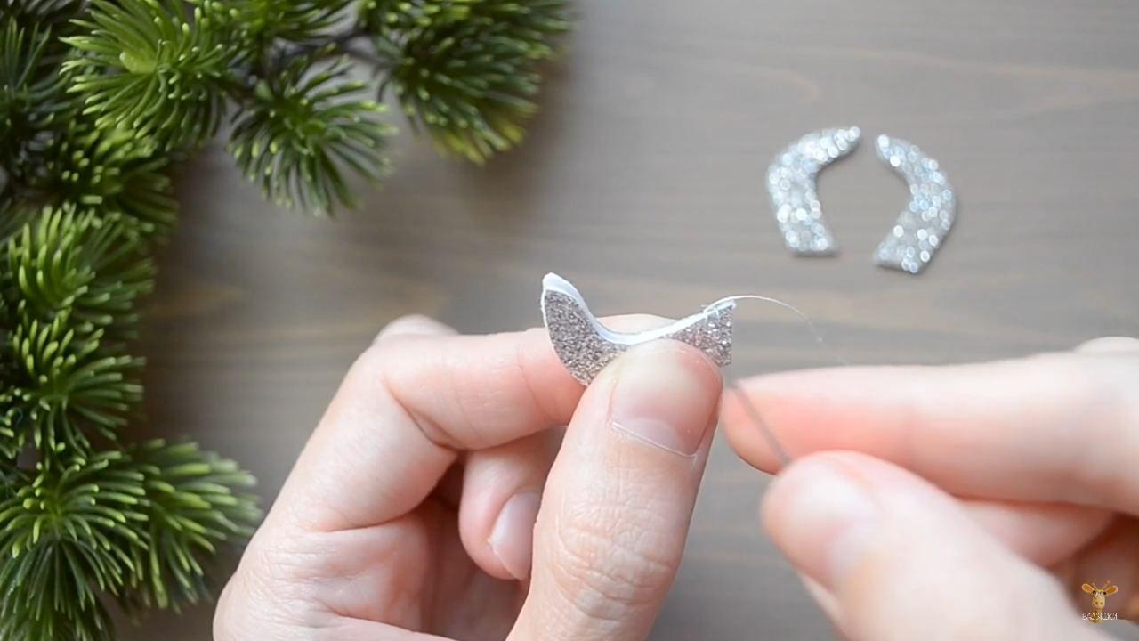 Новогодние поделки из фетра своими руками