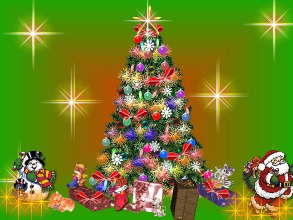 Новогодний праздник в школе «Когда уходит старый год»
