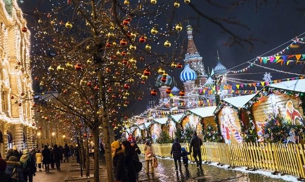 Новогодняя ярмарка в Сокольниках