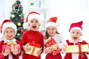 Сценки на Новый год для детей