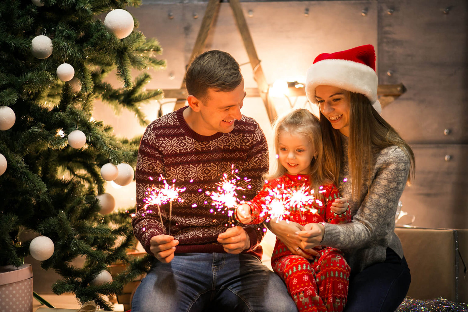 Семейный Новый год для детей и взрослых с конкурсами и играми