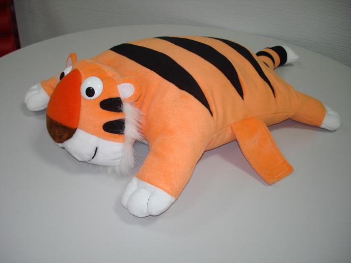 Тигр из ткани своими руками