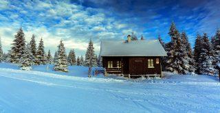 Обои на рабочий стол: зима, пейзажи.